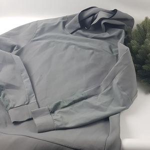 Lululemon XL gray hoodie workout jacket